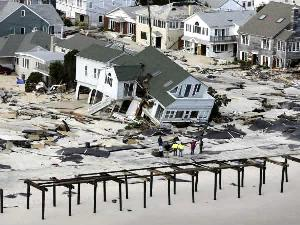 Sandy Destruction